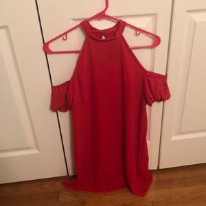 NWT Forever 21 Red Off the Shoulder Dress